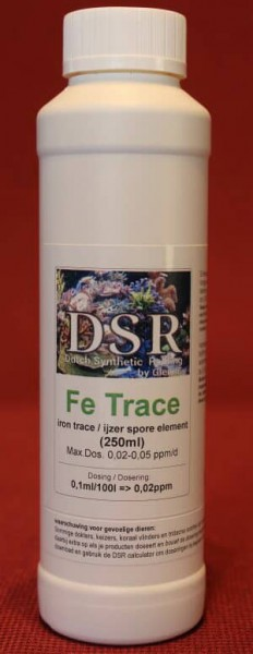 DSR Fe Trace (Iron trace element green/red)