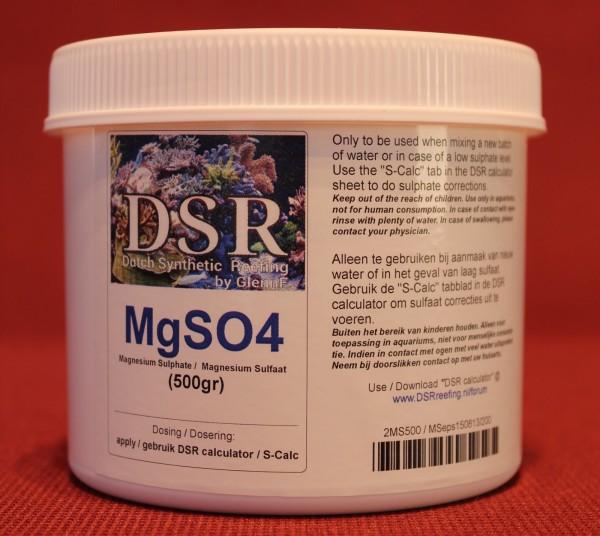 DSR MgSO4 Restposten